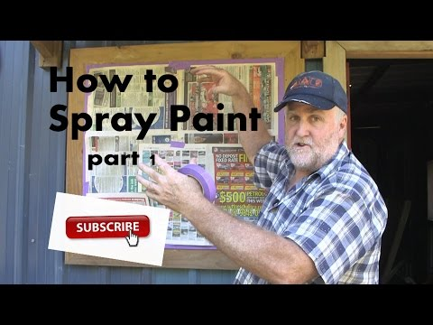 How to spray paint-Part 1 The preparation