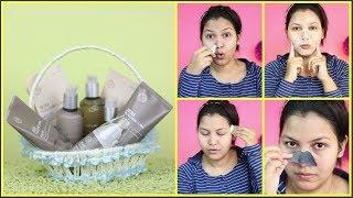 korean skin care/the face shop JEJU VOLCANIC LAVA Range review & demo/NDIANGIRLCHANNEL TRISHA