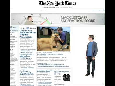 NYT customer satisfaction