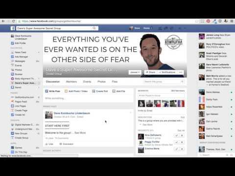Private Facebook Group Sneak Peak!