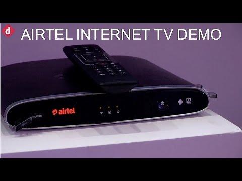 Airtel Internet TV Demo & First Look | Digit.in
