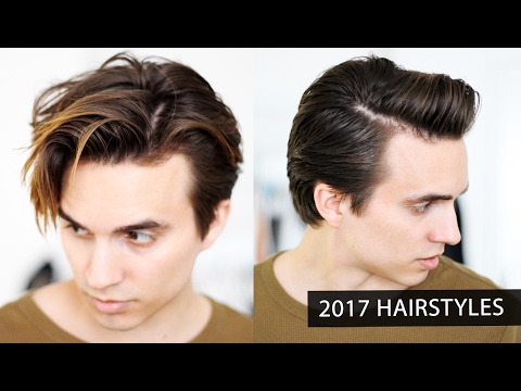 Men's Hairstyles for 2017 + fuller & thicker sides + Men's Hair Tips & Tricks
