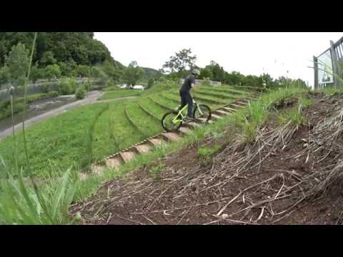 2016 0618 Commencal Absolut Trial練習