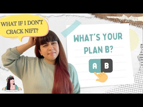 What IF you don't crack NIFT this year? | PLAN B| With Love Inaaya