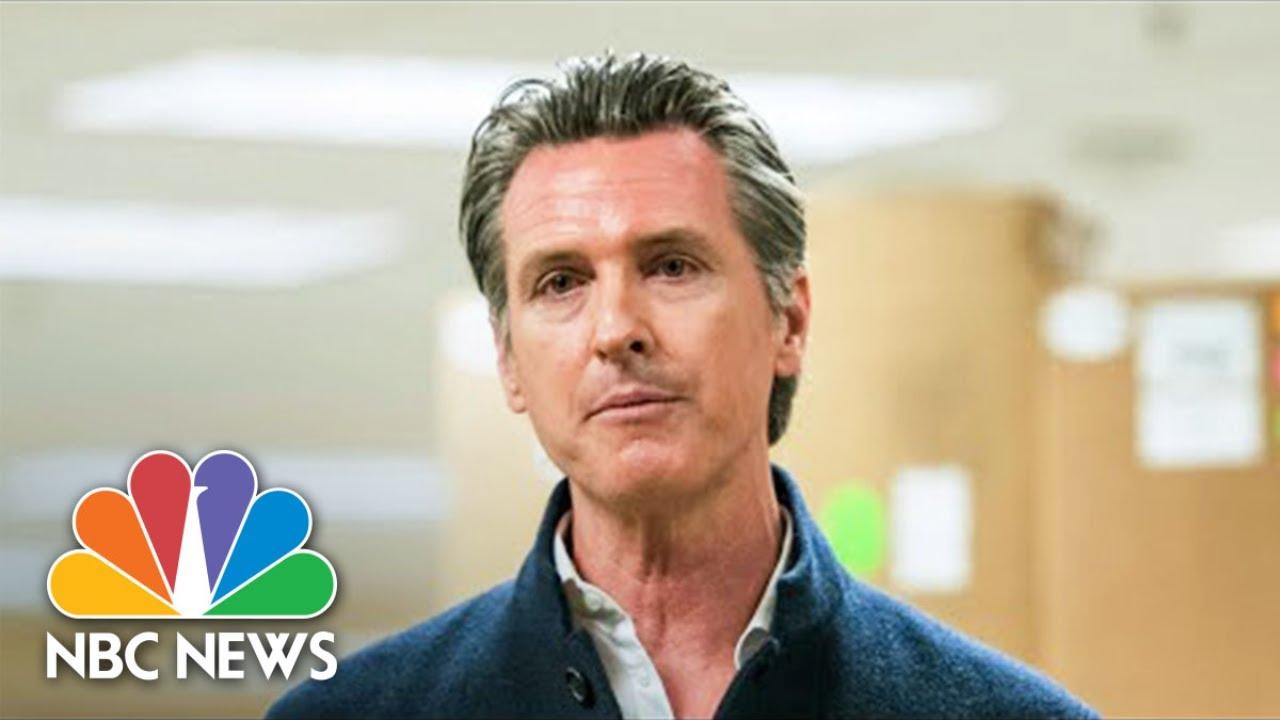 California Gov. Newsom Gives Coronavirus Updates   NBC News (Live Stream Recording)