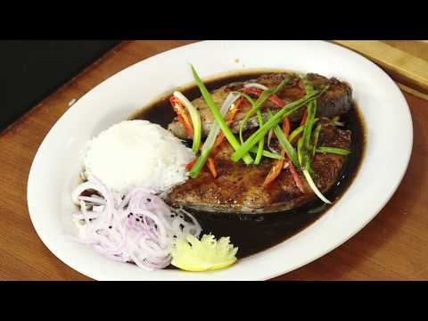 KING FISH FRY CHINESE STYLE /  CHINESE STYLE மீன் வறுவல் - TAMIL