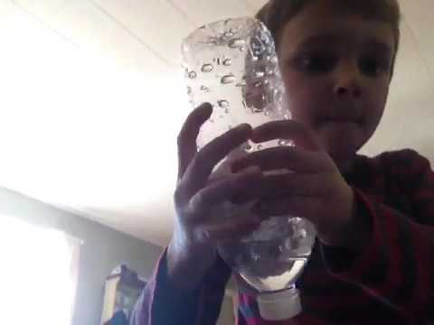 How to make a tornado in a water bottle