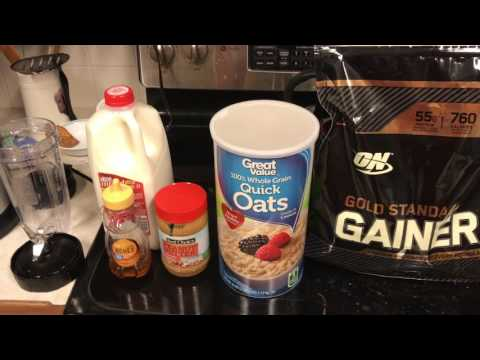 Simple, Fast, & Cheap Mass Gainer Shake