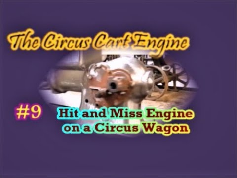 The Circus Cart Engine metalworking woodworking #9