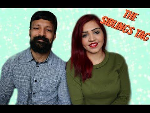 THE SIBLING TAG | SABA ALI