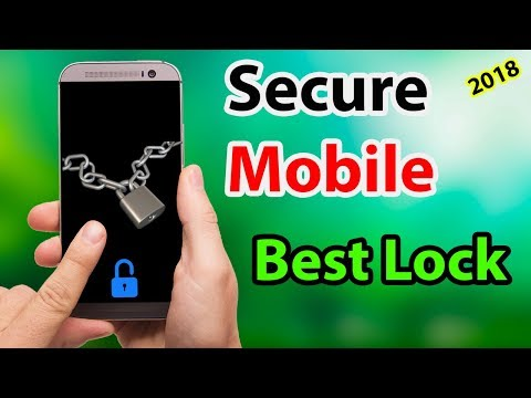 Secure your android mobile | Amazing  screen lock app 2018