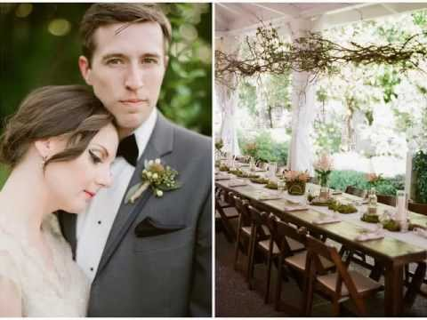 Jacque + Jon Anthropologie Inspired Wedding at CJ's Off the Square