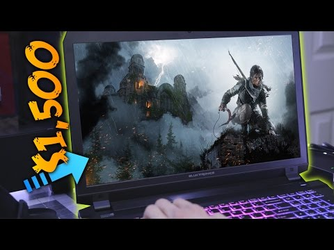 What's it like to Game on a $1,500 Laptop?