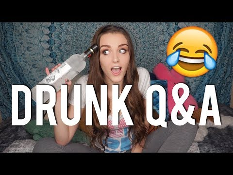 GETTING DRUNK FOR THE FIRST TIME ON CAMERA!!!