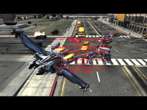 Transformers The Game Cheats PS3 And XBOX 360