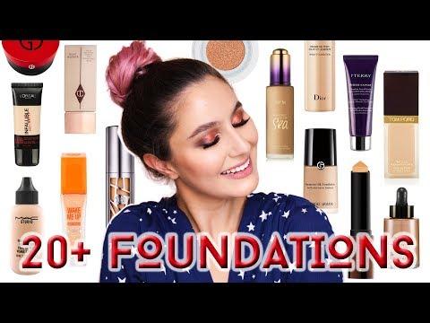 22 Epic Foundations (Sheer, Medium & Full Coverage) | Karima McKimmie