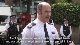 Police say 58 people missing and presumed dead after Grenfell Tower blaze