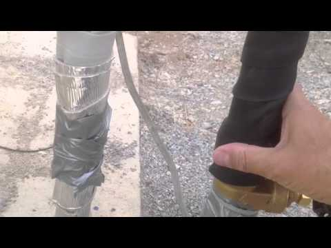 How to Insulate and Winterize Well water pipes