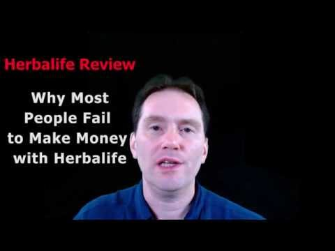 Herbalife Review - Why Most People Fail to Make Money with Herbalife