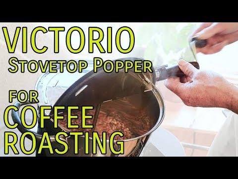 Victorio Stovepop Stovetop Popper for Coffee Roasting