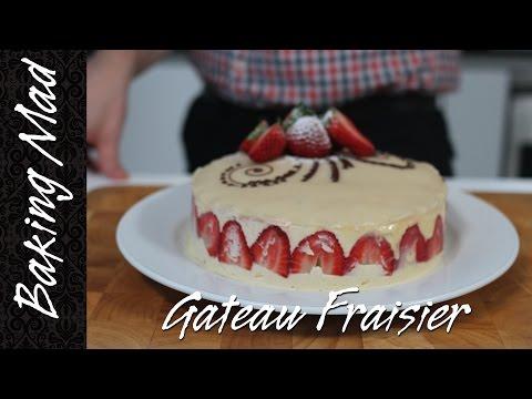 Mother's Day Special - Eric Lanlard's Gateau Fraisier Recipe