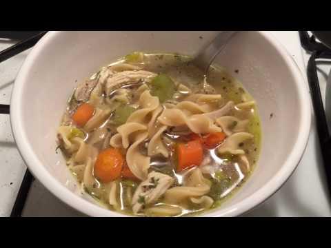 Instant Pot Jeffrey's Chicken Noodle Soup