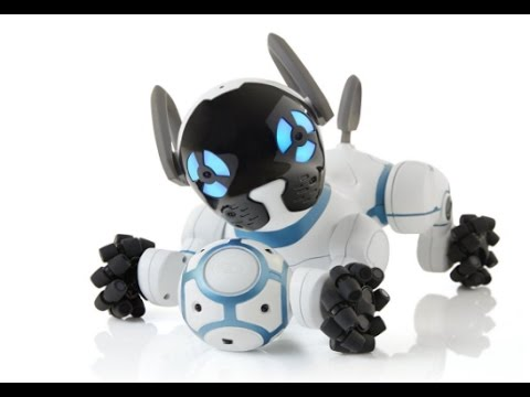 WOWWEE CHIP CANINE INTELLIGENT  ROBOTIC DOG