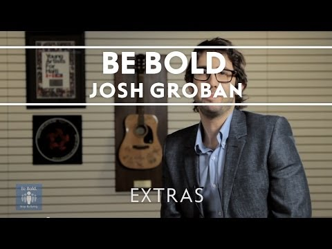 Josh Groban - Be Bold Stop Bullying Pledge [Extras]