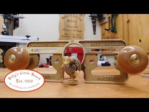 Walke Moore Tools 2500 Router Plane (box opening)