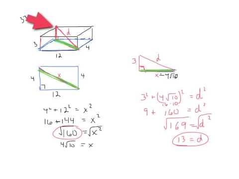 Diagonal of a Rectangular Prism