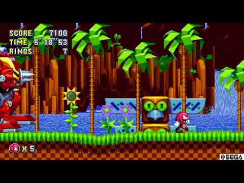 Sonic Mania - Knuckles Really is Hard Mode