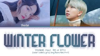 Younha Feat Bts Rm Winter Flower Color Coded Lyrics Eng Rom Han