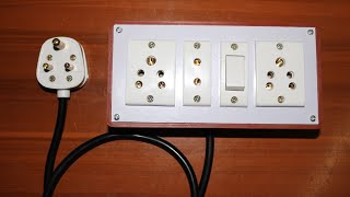 Admirable How To Make An Electric Extension Board Videos 9Tube Tv Wiring 101 Cajosaxxcnl