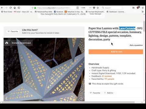 3D Stars! Part 1 with Cricut Design Space