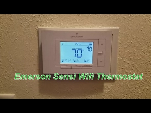 Emerson Sensi Wifi Thermostat overview