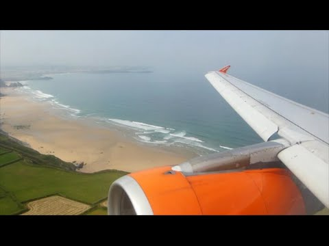 EasyJet Airbus A319-111 | Liverpool to Newquay *Full Flight*