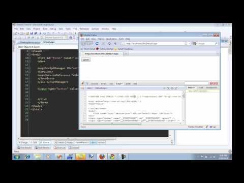 Creating Ajax Enabled WCF Service