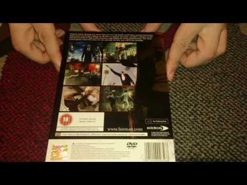 Nostalgamer Unboxes Hitman Blood Money On Sony Playstation 2 UK PAL System Version
