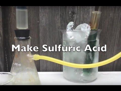 Make Sulfuric Acid (Sodium Metabisulfate method)