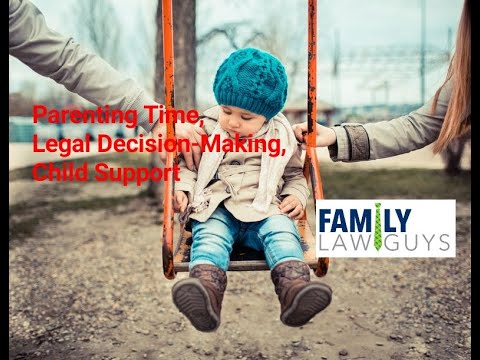 Overview of Legal Decision-Making, Parenting Time, and Child Support in Arizona