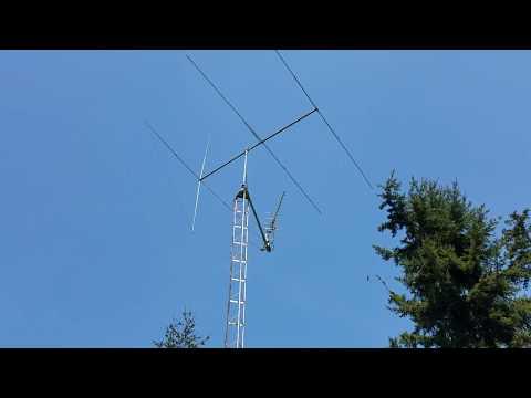 New CB Radio Beam Antenna, 5 Element Long John replaces old MACO Comet