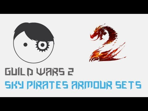 Guild Wars 2 - New Sky Pirates Armour Sets