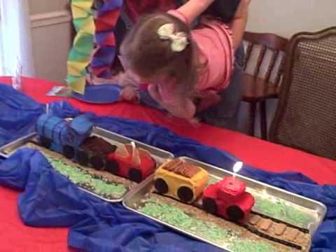 Maggie's Train Cake