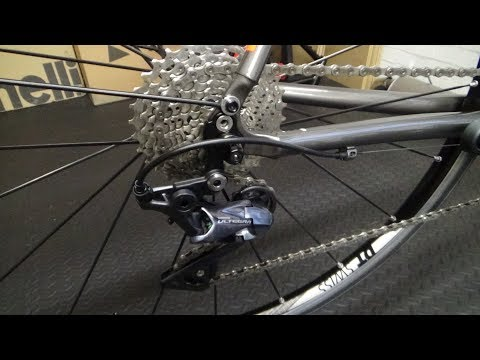 Shimano Ultegra R8000 Rear Derailleur Fitting Guide
