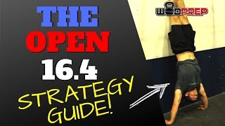 Open WOD 16.4 Strategy Tips (Official WODprep)
