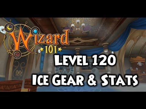 Wizard101 Level 120 Ice Gear Setup