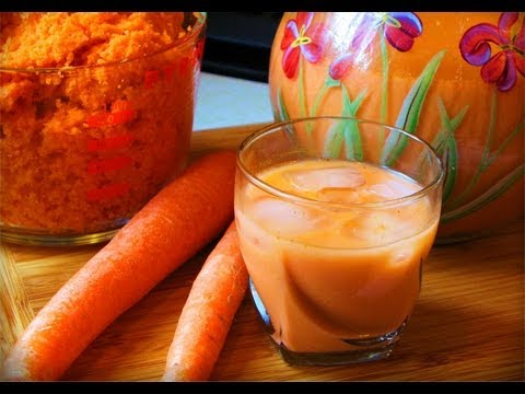 How To Make Caribbean Style Carrot Punch (juice)