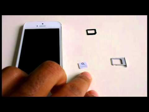 Cut MICRO SIM Card to NANO SIM Card for iPhone 5, SCISSORS ONLY - Make Nano Sim Card yourself