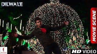 Veer proposes in SRK style | Dilwale Scenes | Shah Rukh Khan, Varun Dhawan, Kajol, Kriti Sanon