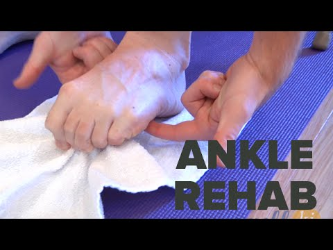 Best Ankle Rehabilitation Exercises For Those Recovering From Ankle Injury